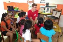 GVI English program in Save The Children *Ludoteca* Center / English classes at Save the Children Ludoteca Center in Playa del Carmen, Mexico