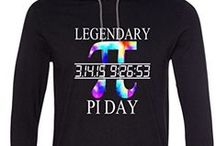 Pi Day / Pi Day T Shirts and Clothing For Men, Women, Juniors, Kids, and even Babies.