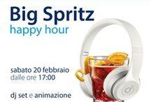 Big Spritz / #BIGSpritz @ Di Tieri Big, Viale Marconi 134, Pescara (PE). L'aperitivo tech che non vi sareste mai aspettati è solo da #DiTieri. ♪ ♫ Dj SET & ANIMAZIONE ♩ ♬  dalle 18 e fino alla chiusura