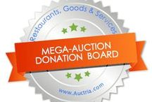 Mega Auction Donations: from Auctria / Donations make the auction successful.  How to ask, Donation request procurement letter, Donation success, Donation items.  Using Charity Auction Organizer, a web based program, makes the auction seamless from procurement through close-out  www.charityauctionorganizer.com is your auction partner!