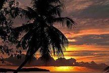 SUNSET & SUNRISE & BEACH