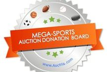 Mega Donations Sports / Is your charity or fundraiser looking for donations? This is the mega board for sports teams.    Take your auction to new heights with AUCTRIA It's an easy to use, but powerful web application for running silent, live or online fundraising auctions www.auctria.com