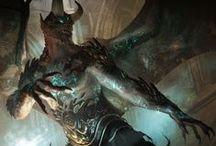 Vassago - dragon shifter from UPON THIS ROCK
