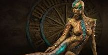 Nagini harem girls / Deep in the caverns of Tartarus, The Hades runs a harem of slave girls... The Nagini. His own daughters.
