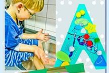 Children's Crafts | Activities | Art / We have tips for keeping kids happy.  Children's arts and crafts, activities to keep the family entertained and kids happy.  Tips from parenting bloggers.