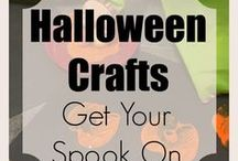 Halloween Crafts | Food | Activities / For Halloween inspired arts, crafts, food and activities. Post as often as you want as long as you're sharing the love! To join board send me an email to doublethemonkeybusiness@gmail.com with your Pinterest name. Invite other bloggers !
