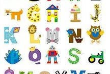 Alphabet Crafts / Alphabet craft ideas for parents and children.  Great ideas to get kids involved in family activities.