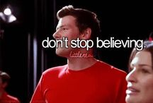 Gleek / Love Glee hope you love it to. RIP Cory Monteith he will always be in our hearts.