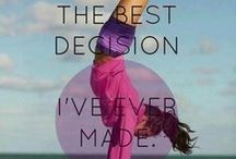 Healthy Lifestyle / Inspiration and motivation