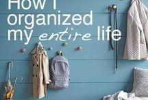 Organizing Tips I Love / Awesome organizing tips and ideas.
