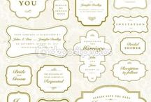 Label Shapes I Love / Great ideas for design, printables and labels.