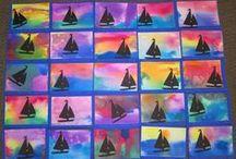 Art Lesson Ideas / Art ideas: Inspirations art lesson ideas