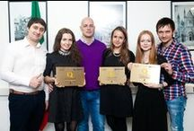 Premiazione Kiev 2014 / Il 9 dicembre hanno ricevuto il marchio Ristoranti Italiani nel Mondo quattro nuove strutture, ambasciatori dell'eccellenza italiana in Ucraina