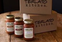 From our table to yours / Created from Terlato Family recipes, our products are handmade in small batches using only the finest ingredients. Enjoy!