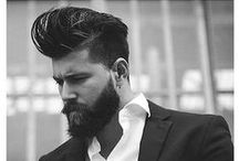 Men's Hair. / Classic and trendy mens' style. | ShearCraft.com