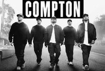 Straight Outta Compton (2015) / #straightouttacompton #drama In 1987, five young men, using brutally honest rhymes and hardcore beats, put their frustration and anger about life in the most dangerous place in America into the most powerful weapon they had: their music.