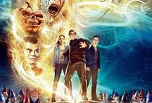 Goosebumps (2015) / When Zach unintentionally unleashes the monsters from their manuscripts and they begin to terrorize the town, it's suddenly up to Stine, Zach, and Hannah to get all of them back in the books where they belong.
