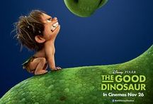 The Good Dinosaur (2015) / In an alternate timeline in which Earth was never hit by an asteroid and dinosaurs never became extinct, a young Apatosaurus named Arlo loses his father in a tragic accident. One day, Arlo falls into a river and gets knocked out by a rock, finding himself far away from his home. While trying to find a way back to the Clawed-Tooth Mountains, he befriends a human cave boy that he names Spot.