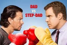 Daddy's Home (2015) / Brad, mild-mannered radio executive struggles to become a good stepfather to his wife's two children, but complications arise when their father, Dusty arrives, forcing him to compete for the affection of the kids.