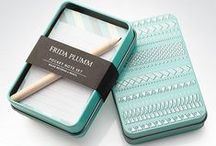 Stationery I Love / Beautiful stationery I am obsessed with, besides my own of course. Inspiring images for design.