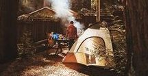 C A M P I N G / Camping and outdoor adventure