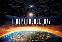 Independence Day: Resurgence (2016) / In 1996 the aliens in deep space received the signal and sent a larger and more powerful battle fleet, threatening the human race once more. This time, with a gravitational machine.