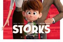 Storks (2016) / Desperate to deliver an unauthorized baby before the boss gets wise, Junior and his friend Tulip, the only human on Stork Mountain, race to make their first-ever baby drop - in a wild and revealing journey that could make more than one family whole and restore the storks' true mission in the world.