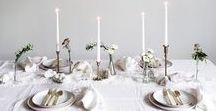 T A B L E S C A P E / Bohemian and alternative table setting inspiration