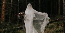W E D D I N G  D R E S S / Alternative wedding dress inspiration for the bohemian and free-spirited bride