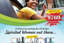 Women's Special Holiday Packages / satguru Travel designed holiday packages specially for women's only.