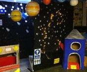 Space Lesson Theme Ideas / Lesson ideas for teaching space topics.