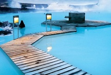 ⒹIcelandⓄFinland / The many hot springs within her as well as the geysers and volcanoes.  Finland,Helsinki  Åland ,Mariehamn