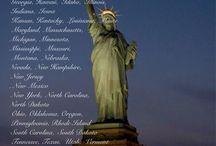 ⒹUnited States of America  /   Alabama,  Alaska, Arizona,  Arkansas  California, Colorado, Connecticut, Delaware, Florida  Georgia, Hawaii,  Idaho,  Illinois,  Indiana,  Iowa  Kansas, Kentucky,  Louisiana,  Maine  Maryland, Massachusetts,  Michigan, Minnesota  Mississippi,  Missouri,  Montana,  Nebraska  Nevada,  New Hampshire,  New Jersey, New Mexico  New York,  North Carolina,  North Dakota