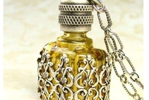 """Perfume Bottles / """"The memory is the perfume of the soul."""" ¬George Sand"""