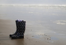Water | Boots / Just for the pleasure of jumping into puddles and taking long walks under the rain... Loving it!!! <3