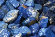 I ♡ Lapis lazuli | Cobalt Blue | Indigo / I love the energy that I feel when wearing this gem stone and dressing with this colour.