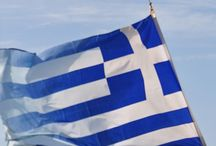 Ⓓ*F ➻Greece. / Their Mythology and architecture. They are known there Greek diet of olive oil, olives, goat cheese, and grapes. The Greeks diet is a lot more healthy than the American diet.