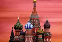 ⒹRussiaⓄ /  Russia is the largest country in eastern Europe. It borders Asia and is known for its very cold weather.St. Petersburg is the capital of Russia.