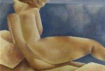 THEOPHILE BOSSHARD / Peintre suisse vaudois 1888-1959