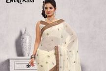 VELVET TOUCH / Most beautiful designer embroidered sarees ever !