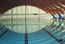 Sports & Swimming Pools Fabric Ducting / Prihoda Fabric Ducts in a range of applications for Sports and Leisure related installations.