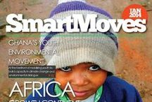 SmartMoves Magazine / A platform through which young people across Africa could be affiliated to global educational opportunities, social-change leadership and local solution driven entrepreneurial prospects. It features content that includes, but not limited to education opportunities, investment prospects, diverse career choices, climate change, gender, socio-economic issues, youth empowerment, health, poverty eradication and human capital development.
