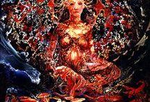 Art of Visionary Artist Nick Hyde / Art of Nick Hyde SF Visionary Artist