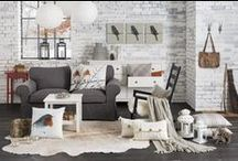 VINTERFÅGEL collection 2014 / All the winter birds are here already: animal patterns, soft fur, knits to nestle in. Allow romantic cottage charm into your home with the VINTERFÅGEL 2014 range.