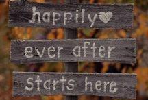 October Wedding 2015 / Fall wedding inspo