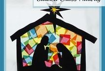 Natal (moldes, trabalhos manuais, postais, desenhos, etc...) / by Diana Regina Santos