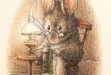"""Beatrix Potter """"caracters that i love"""" <3"""
