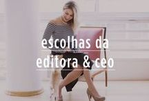 Escolhas da editora & ceo / Nossa CEO Mari Ribeiro mostra seus itens favoritos do mês!