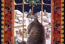 lesley anne ivory, cats