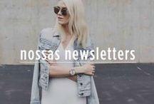 Nossas newsletters / As newsletter que criamos e mais amamos reunidas aqui!